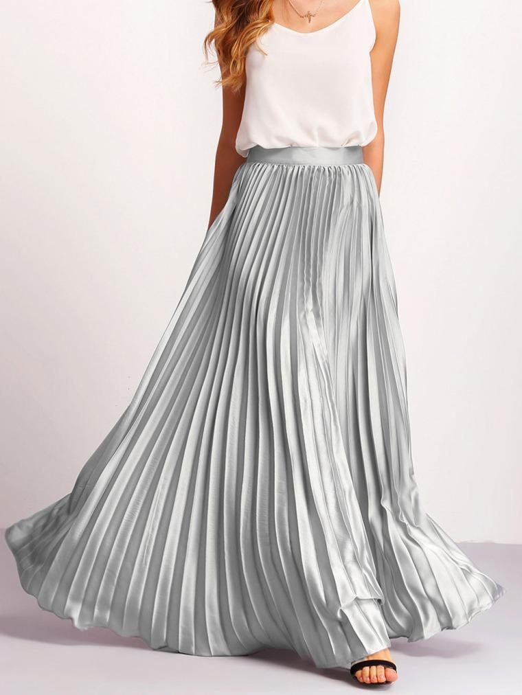 shein jupe plisée