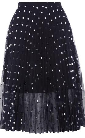 topshop 2ème jupe plissée