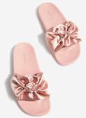 chaussures rose stradivarius