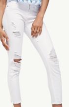 pantalon blanc stradivarius