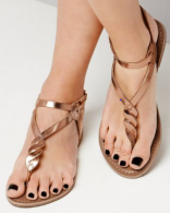 sandales metallique new look.PNG