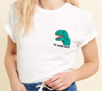 t-shirt rex rad